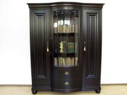 Przedwojenna Biblioteka z szufladami. Kryształowe szyby.